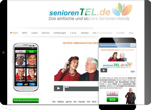 Webseite seniroernTEL