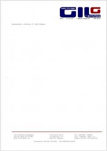 Briefpapier Gilg