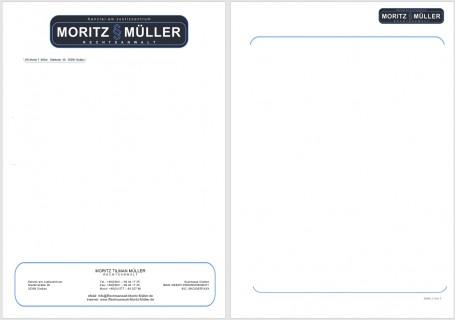 Briefpapier Müller