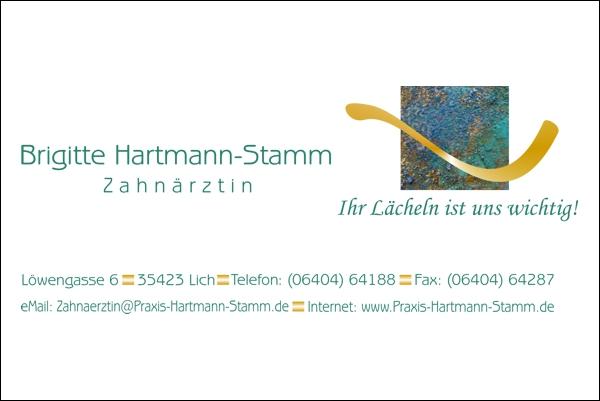 Zahnärztin Hartmann-Stamm