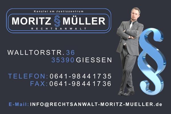 Rechtsanwalt Moritz Müller