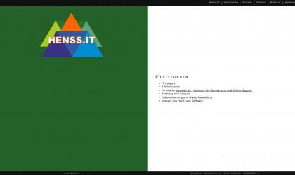 Webseite HenssIT