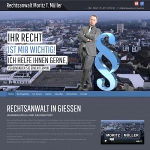 Webseite Müller